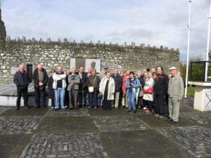 Thomond Group at Bodenstown Graveyard