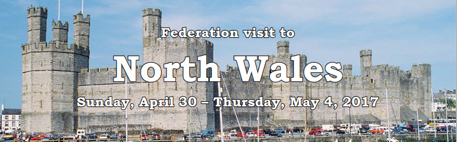 Federation visit to North Wales 2017