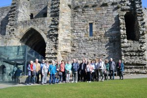 Group at Caernarfon Castle