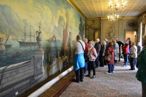 Rex Whistler's famous canvas at Plas Newydd