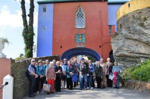 Group at Portmeirion