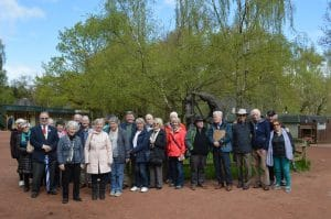 Group at Sherwood Forest